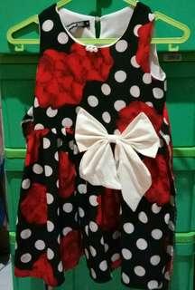 Dress polka baby