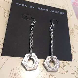 Marc by Marc Jacobs 銀色耳環