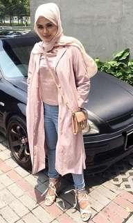 Pink Long Jacket
