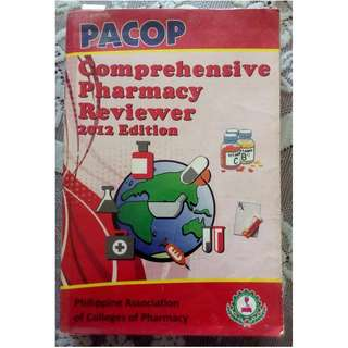 PACOP Comprehensive Pharmacy Reviewer (2012 Ed.)