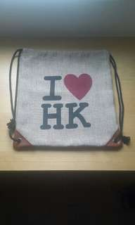 I <3 HK bag