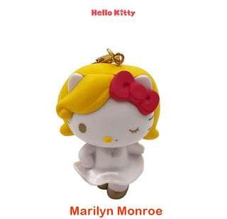 (Instock) 25th Anniv Hello Kitty Marilyn Monroe Chain