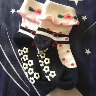 Baby Anti-slip Floral Ballet Socks