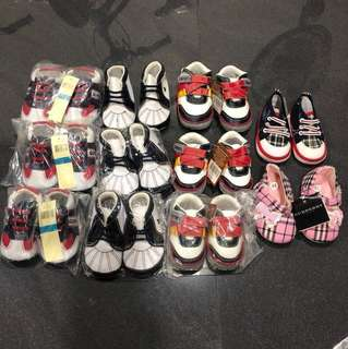 New Assorted baby boy girl prewalker shoes