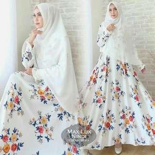 Muslim Dress With Khimar