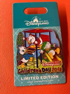 Children's Day 2018 Hong Kong Disney Pin (Limited Edition of 500)