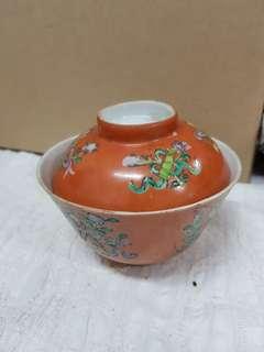 Vintage Chinese porcelain tea cup