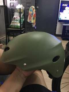 Bike nutshell helmet sec