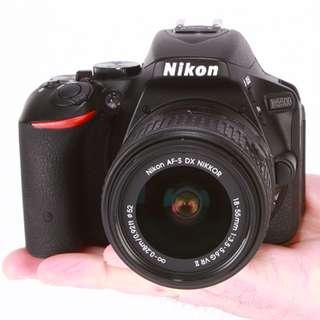 Kredit Nikon D5500 with AFP 18-55mm - Cicilan tanpa CC
