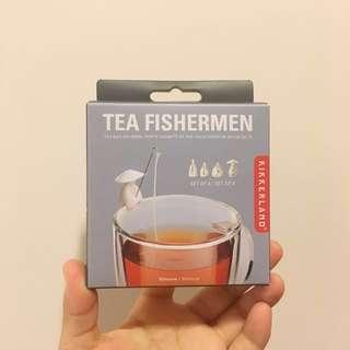 🚚 Kikierland Tea fishermen 願者上鉤茶包掛4入   #茶 #茶具 #茶包