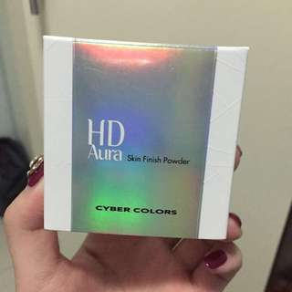 Brand New Cyber Colors HD Aura Skin Finish Powder