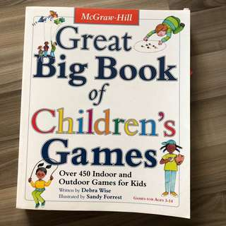 McGraw Great Big Book of Children's games