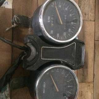 Suzuki GN 250 motorcycle vintage speedometer