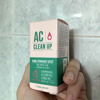 ETUDE HOUSE AC pink powder spot treatment drying lotion