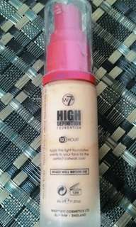 W7 HD Foundation in True Beige