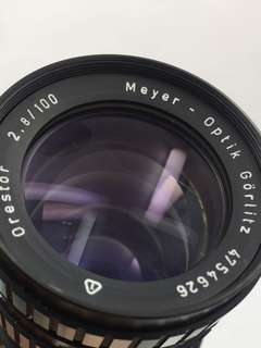 Meyer Optik 100mm F2.8 Orestor Canon EF Mount