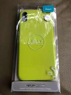 iPhone X 全新螢光綠色(購置韓國)