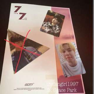 GOT7 PHOTOCARDS (P250 EACH)