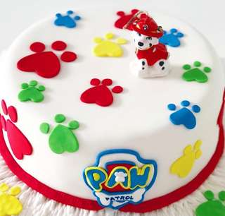 Paw Patrol Customised Cake