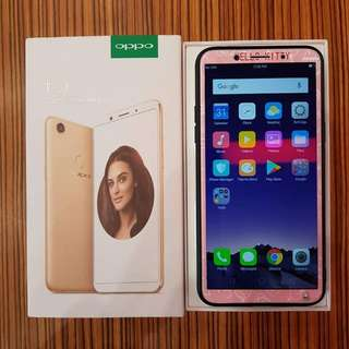 Oppo F5 Gold Complete