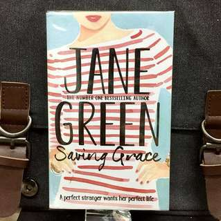 # Novel《Bran-New + A Compelling Story of Betrayal Fiction》Jane Green - SAVING GRACE : A Perfect Stranger Wants Her Perfect Life...