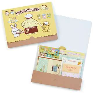 Japan Sanrio Pompompurin Volume Letter Set