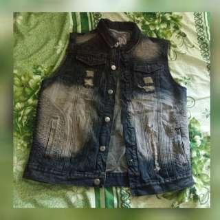 Trendy Maong Vest