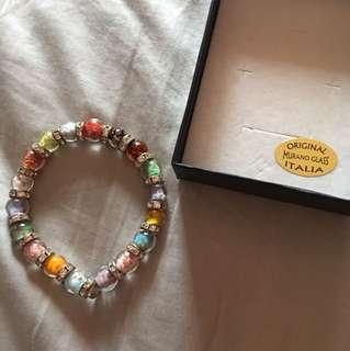 Original Murano Glass Italia Bracelet