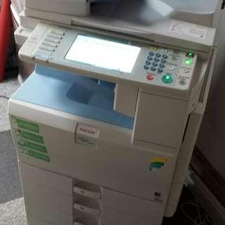 RICOH Aficio MPC 2050 商業網絡打印機Printer@90%新New