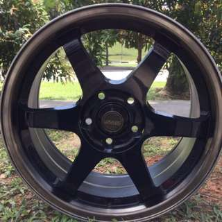 17in PCD 5-114.3 SSW Gravity Casting Rims On Sale