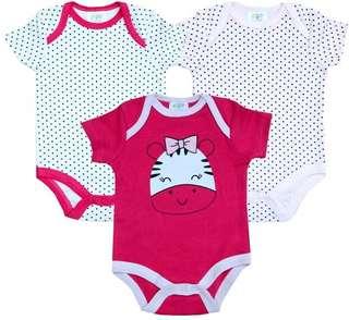 Baby Romper 3 pcs