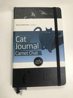 Moleskine Notebook Cat Journal