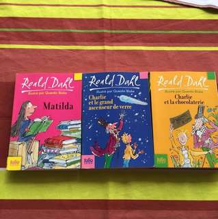 Roald Dahl/ in French / En Français