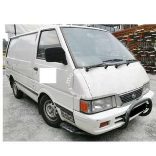 Nissan Vanette 1.5(M) 2001 FULL PANEL VAN TIP TOP