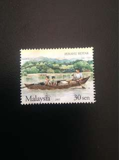 Malaysia 2005 Traditional Water Transport 30c Used SG1286 (0325)