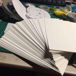 🚚 空白明信片一組-50張 紙膠帶 手創 畫畫 必備