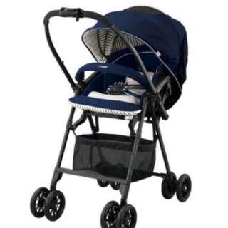 Combi stroller Mechacal Handy 2x