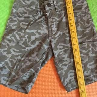 Kids camouflage shorts