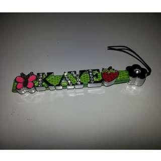 Name Green Keychain - KAYE