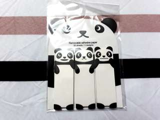 Cute panda sticky notes/remove adhesive paper!