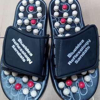 sandal reflexiologi alat kesehatan terapi paling bagus