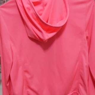粉色防曬外套
