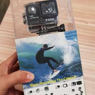 Posh action camera Go-pro