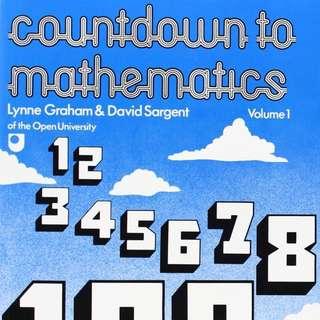 WTB: Countdown To Mathematics Volume 1 & 2 by Lynne Graham & David Sargent