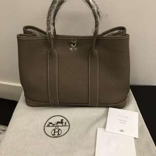 Hermes Garden Party 30 with original dust bag 連原裝麈袋