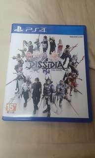 ps4 final fantasy dissidia