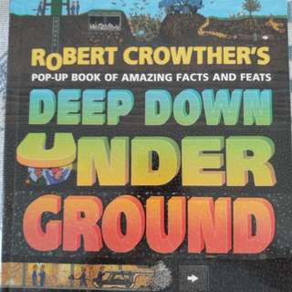 Robert Crowther's pop up book of amazing facts and feats : Deep Down Under Ground