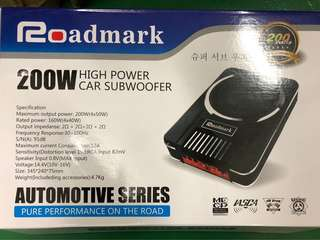 "Road mark 8"" active sub-woofer 200W high power"