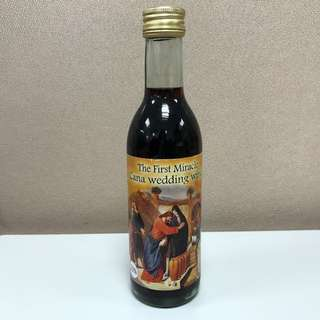 The First Miracle Cana Wedding Wine (Small Bottle)