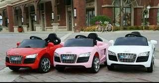 儿童电动车汽车四轮摇摆双驱宝宝电瓶童车遥控玩具车可坐人带